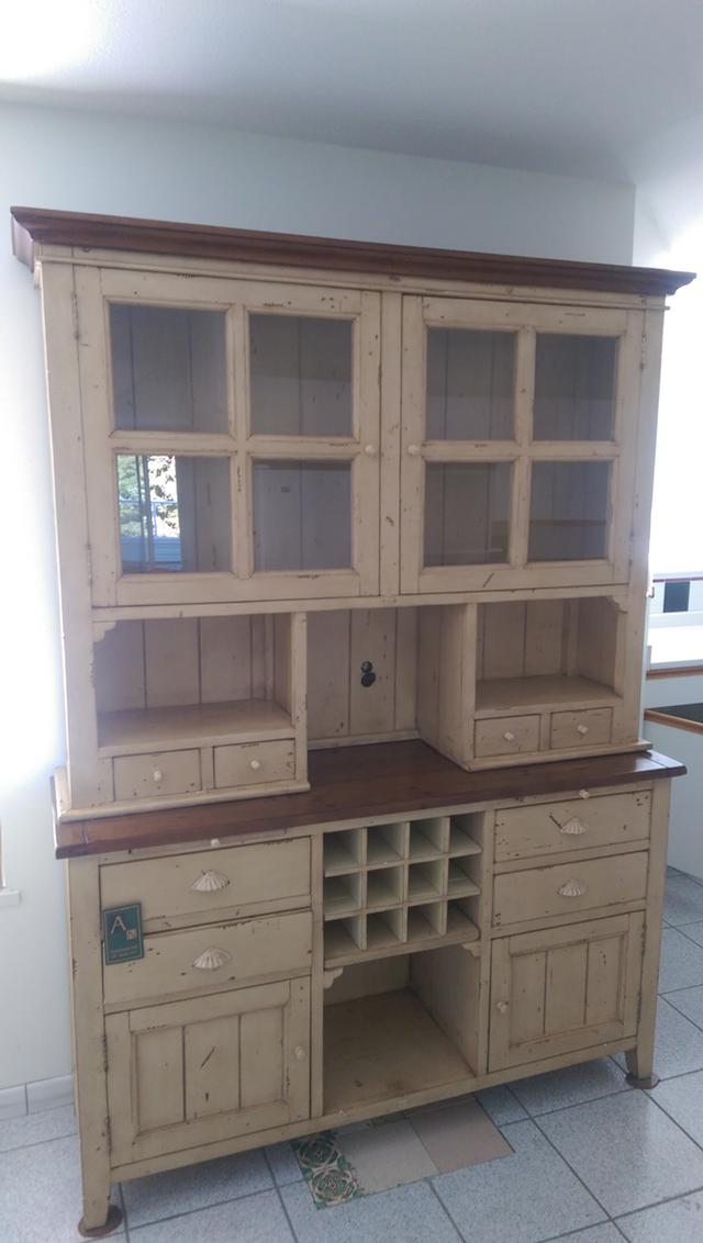 1 000  Antique Wine Rack Hutch  Buffet