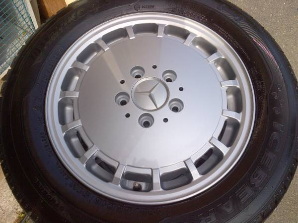 Benz rims and tires for sale for Mercedes benz winter tires