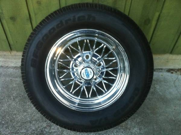 cragar wire wheels - $750 (saanich)