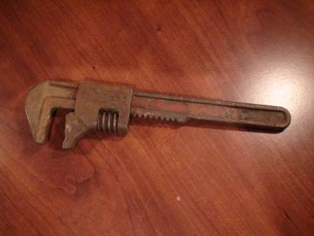 VTG Ford USA 8 Adjustable Monkey Wrench - Authentic - $25