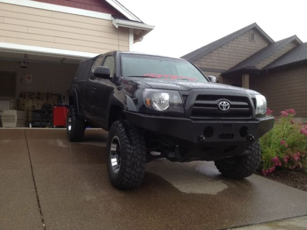 2005-2011 TOYOTA TACOMA weld together winch bumper kit. - $360 (sw washington)