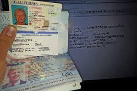 Drivers License  ID   passport 336791-9872