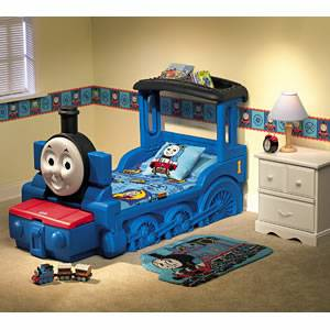 Thomas the Train Toddler Bed and Extras by Little Tikes - $225 (Saanich)