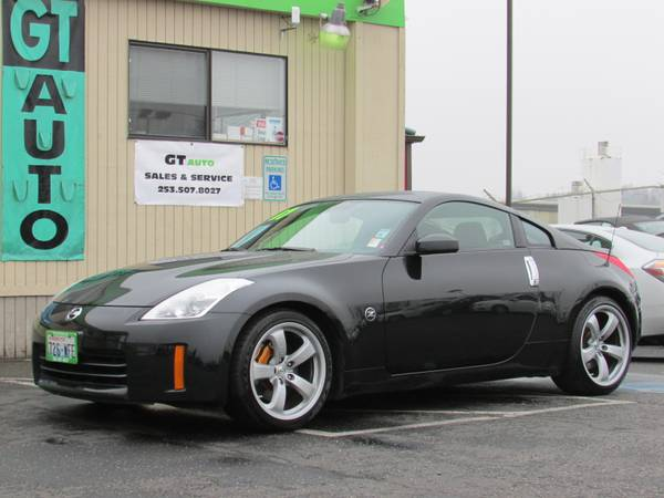 2007 Nissan 350Z Grand Touring Coupe - 6 Speed Manual - Super Black (TACOMA, WA)