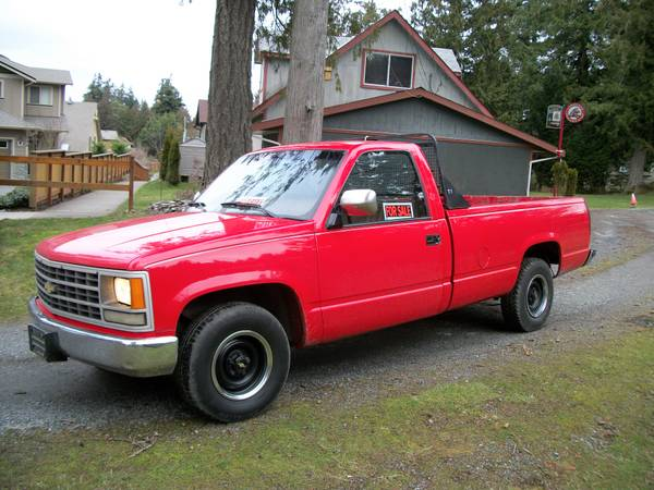 Great Work Truck 1990 Chevy - $1500 (Langford)