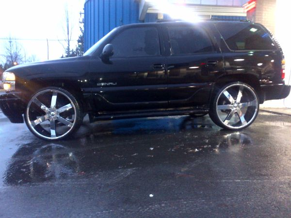 2002 Denali 28 inch rims - $10000 (Lower Mainland)