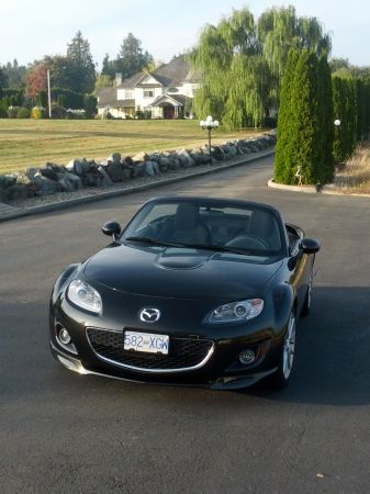 2011 Mazda MX5, Local, No Accident, Black, Power Retractable Hard Top - $25000 (Delta)