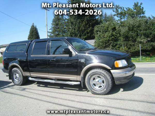 2003 Ford F-150 King Ranch SuperCrew 2WD - Hurry In Today - $7995 (langley 604-534-2026)