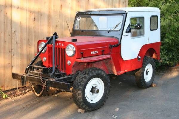 1957 Willys CJ3B (Jeep) - $5000 (Salt Spring Island)