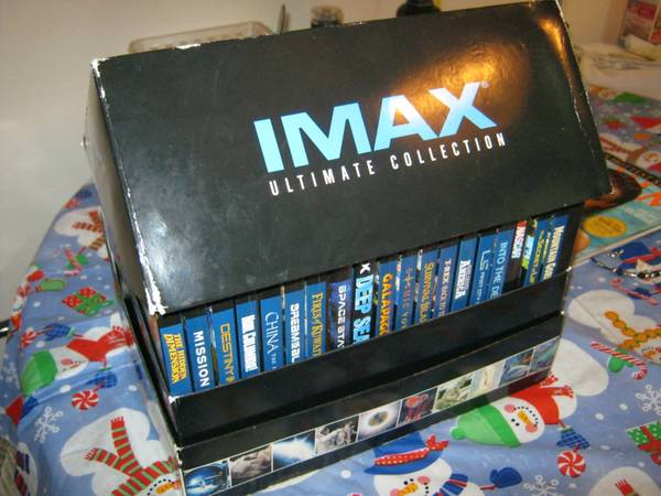 DVD iMax Ultimate Collection  20 DVD S  -   x0024 40  victoria bc