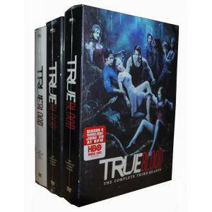 True Blood  HBO  Seasons 1-3 DVD -   x0024 30  Downtown