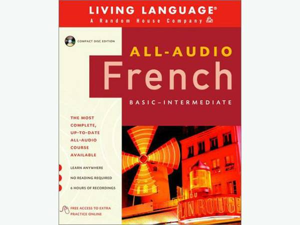 Living Language French ISBN 0-609-81124-X - $50 (victoria)