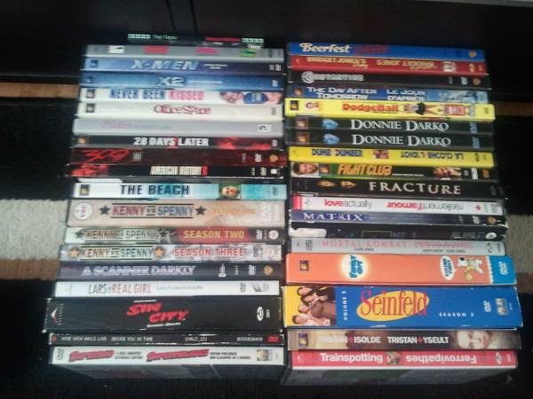 Huge lot of DVDs - lt$2title - $60