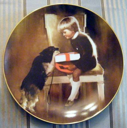 Collector Plate Gift for Grandma by Donald Zolan - $40 (Langford)