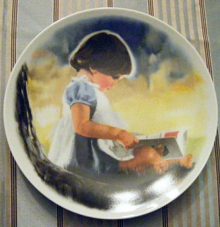 Collector Plate By Myself Doanld Zolan - $25 (langford)