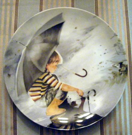 Wonder of Childhood 6 Collector Plates by Donald Zolan - $150 (Langford)