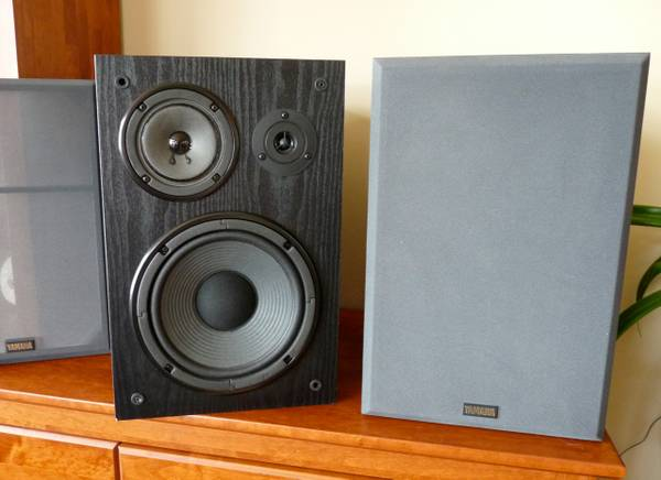Yamaha Bookshelf Speakers model NS-A635A - $70 (Victoria)