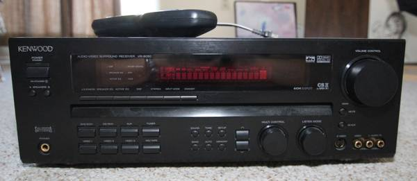 Kenwood 5.1 Channel Receiver Amp - $45 (UVic)