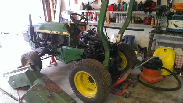 TRADE 855 JD COMPACT TRACTOR PROJECT  TRADES  -   x0024 1500  Metchosin