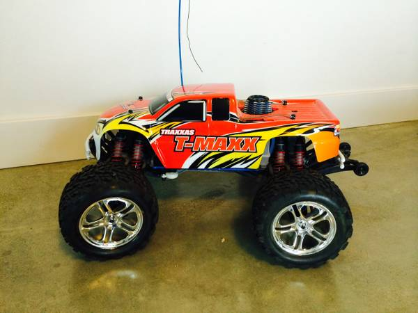 Gas Powered RC Truck  Central Saanich
