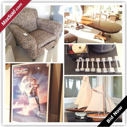 1  West Vancouver Moving Online Auction - Hillside Rd