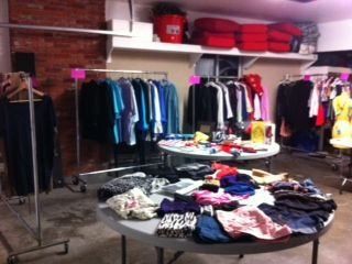 Giant designer clothing and garage sale - $10 (Oak Bay)