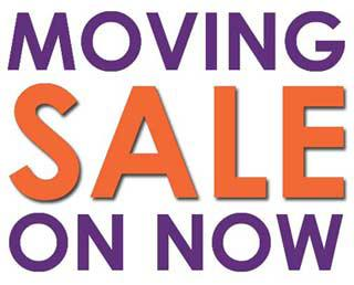 Large Moving Sale