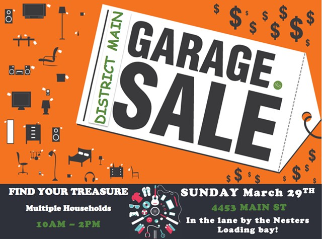 The District Main Garage Sale