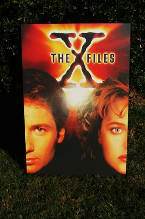 X  Files Wall Picture - x002410 (Sidney   -  Victoria)