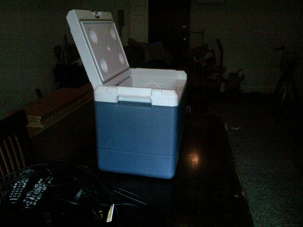 Coleman iceless electric cooler - $50 (Victoria)