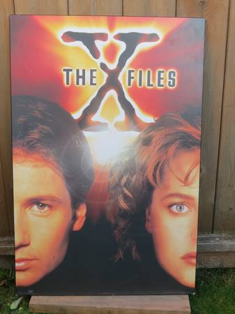 X  Files Wall Picture - $10 (Sidney   -  Victoria)
