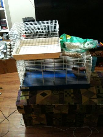 Large  Travel Rodent Cage - $70 (Downtown Victoria)