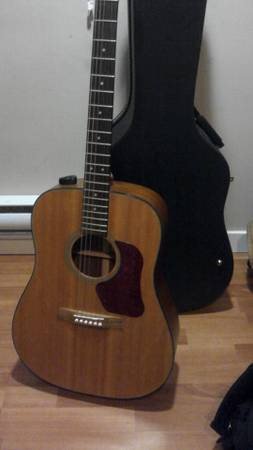 walden d550 acoustic guitar for sale - $140