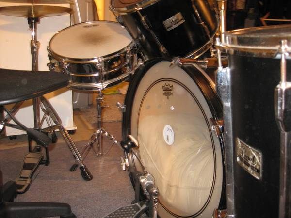 PEARL BLACK EXPORT PRO SERIES DRUM SET - $550