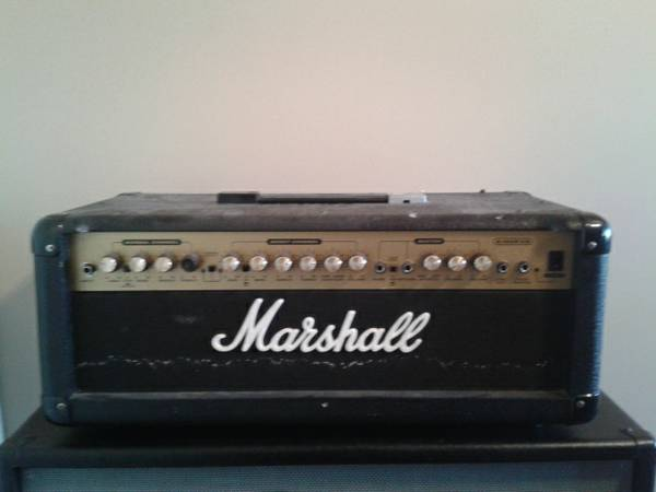 Marshall G100R CD Solid State Guitar Head - $175