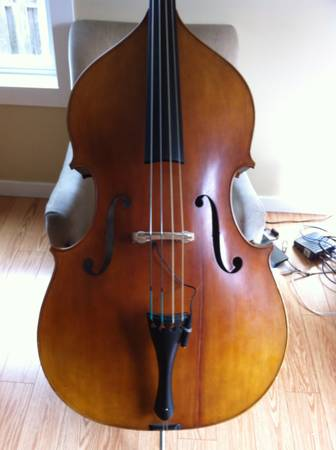 John Juzek Double Upright Acoustic String Bass - $5000 (Victoria)