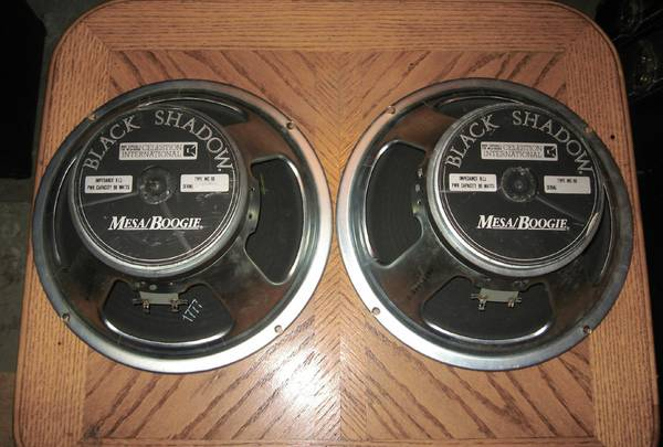 Mesa Boogie Celestion C-90 Black Shadow 12 8 Ohm Guitar Speakers - $50 (Victoria)