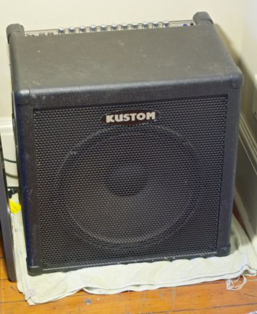 Kustom KBA100 Bass or Keyboard Combo Amp 15 - $350 (Downtown Victoria)