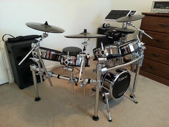 Roland TD-30KV V-Drums with SPD-30 Octapad