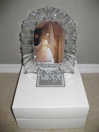Cathedral Crystal Monarch Picture Frame by Mikasa. - $15 (Westshore)