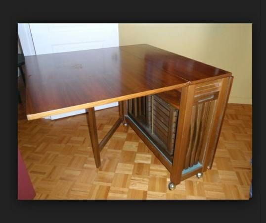 Wanted- space saving table  victoria bc