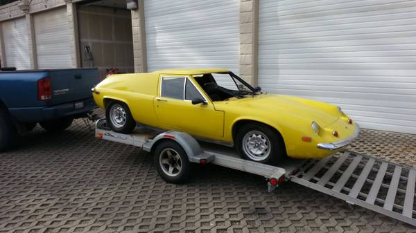 Wanted  Lotus Europa windshield and other parts   BC  WA