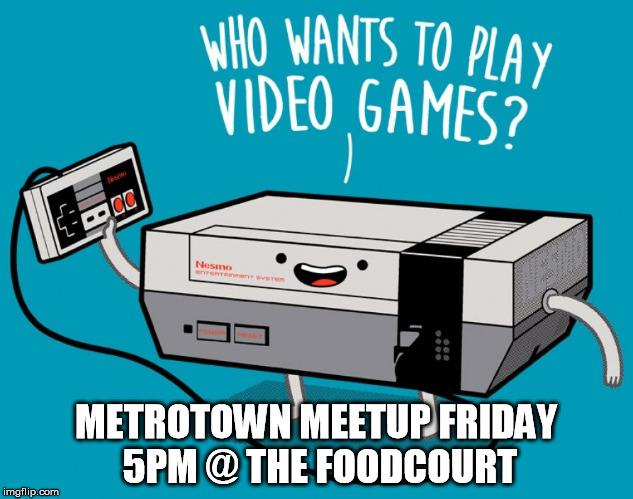 StreetPass 3DS Meetup Friday Metrotown Food Court