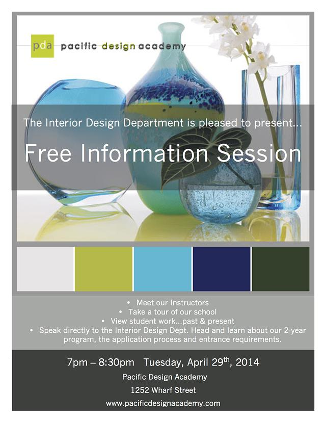 Interior Design Information Session