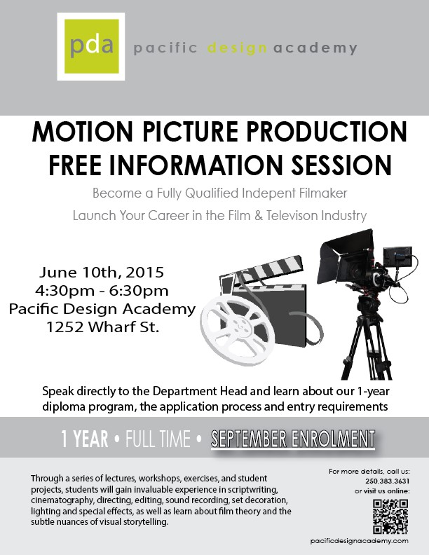 Motion Picture Production Information Session