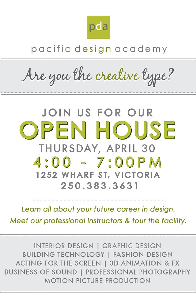 Open House at Pacific Design Academy