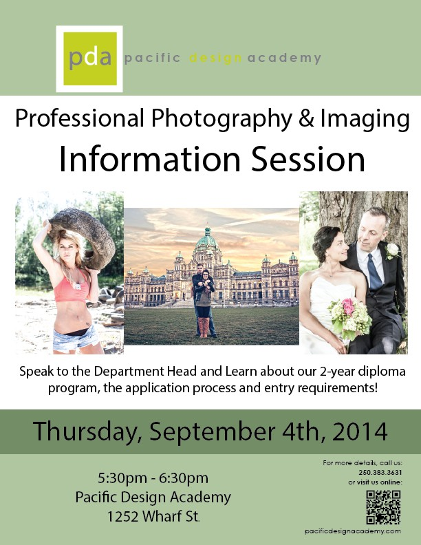 Professional Photography Information Session