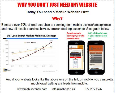 Web design for mobile Opportunity knocks 70 of searches are from smartphones
