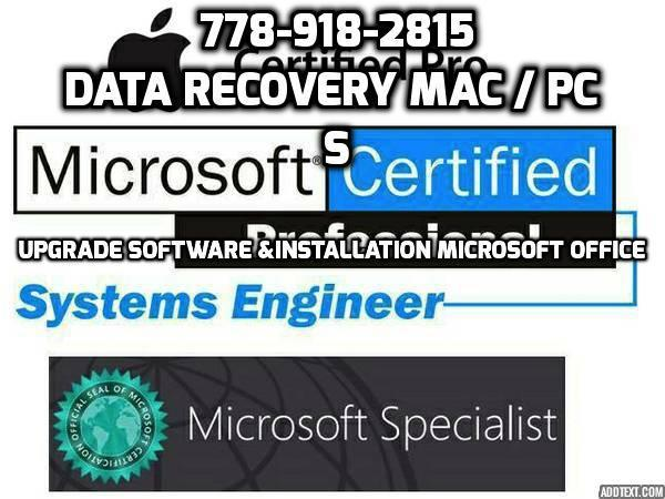 OnSite Computer Services  778-918-2815 Computer Tech Support Vancouver BC Repair Computer