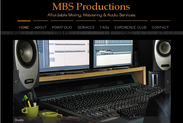 MBS Productions Affordable Mixing  Mastering   Audio Services